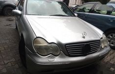 Used grey 2001 Mercedes-Benz C240 sedan for sale at price ₦750,000
