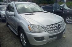 Foreign Used Mercedes-Benz M Class 2006 Silver