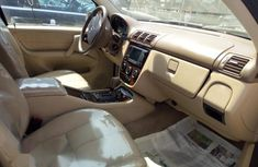 Foreign Used Mercedes-Benz M Class 2003 Gold Colour