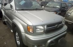 Foreign Used Toyota 4runner 2001 Silver