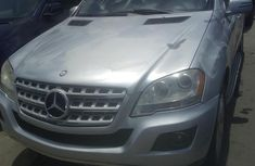 Foreign Used Mercedes-Benz M Class 2011 Silver