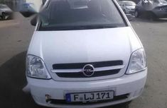 Foreign Used Opel Meriva 2005 1.6 White