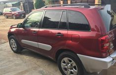 Tokunbo Toyota RAV4 2005 MOdel 1.8 Red