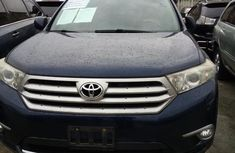 Super Clean Foreign used Toyota Highlander 2011 Limited Blue
