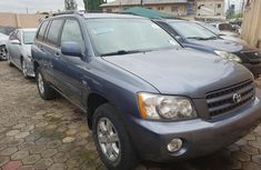Sell blue 2002 Toyota Highlander automatic at price ₦2,200,000