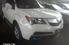 Foreign Used Acura MDX 2010 White
