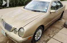 Nigerian Used Mercedes-Benz E320 2000 Gold