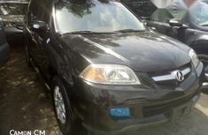 Foreign Used Acura MDX 2005 Black