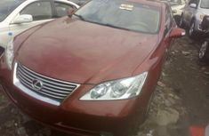 Foreign Used Lexus ES 2009 Model Red Colour