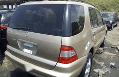 Gold 2004 Mercedes-Benz M-Class automatic for sale