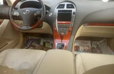 Foreign Used Lexus ES350 2010 Model Gold