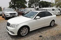 White 2009 Mercedes-Benz C300 automatic for sale at price ₦3,900,000 in Abuja