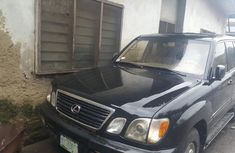 Selling 2001 Lexus LX suv / crossover automatic in good condition