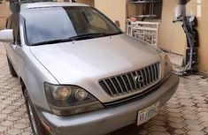 Super Clean Nigerian used Lexus RX 2001 Silver