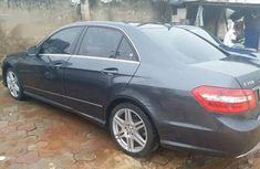 Foreign Used Mercedes-Benz E350 2010 Black