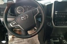 Very clean Foreign used Toyota Land Cruiser 2016 Black