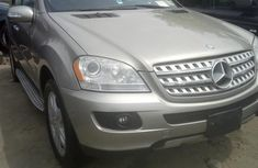 Foreign Used Mercedes-Benz M Class 2007 Gold