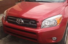 Red 2006 Toyota RAV4 suv / crossover automatic at mileage 0 for sale