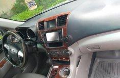 Super Clean Nigerian used Toyota Highlander 2013 Silver