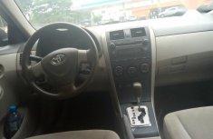 Neat Nigerian Used Toyota Corolla 2010