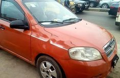 Certified orange 2008 Chevrolet Aveo automatic in good condition