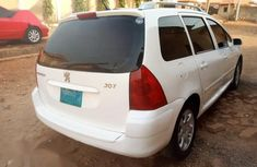 Nigerian Used Manual Peugeot 307 2008 Model White