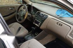 Neat Nigerian used Honda Accord 2002 Silver