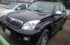 Sell black 2009 Toyota Land Cruiser Prado in Lagos at cheap price