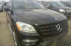 Foreign Used Mercedes-Benz M Class 2012 Black
