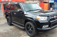 Well maintained black 2011 Toyota 4-Runner automatic for sale at price ₦9,800,000
