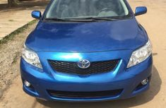Blue 2010 Toyota Corolla for sale at price ₦2,800,000 in Lagos