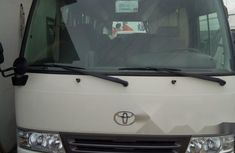 Clean 2017 Toyota Coaster van manual for sale