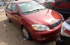 Neat Foreign used Toyota Corolla 2005 CE Red