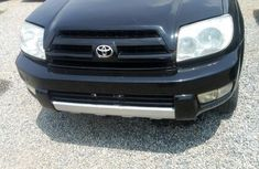 Clean Nigerian used Toyota 4-Runner 2004 Black