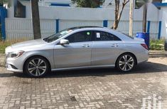 Neatly used Foreign Mercedes-Benz CLA-Class 2014 Silver