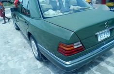 Clean Nigerian used Mercedes-Benz E320 1995 Green