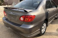 Very clean Nigerian used Toyota Corolla 2002 Sedan Gray