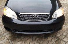 Clean Tokunbo Toyota Corolla 2005 Black