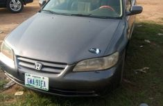 Neat Nigerian used Honda Accord 2002 Gray