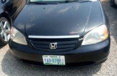 Neat Nigerian used Honda Civic 2002 Blue