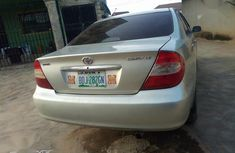 Nigerian Used 2004 Toyota Camry Silver Colour