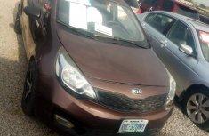 Clean Nigerian used Kia Rio 2013 Brown