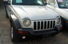 Clean Nigerian used Jeep Liberty 2002 Gray