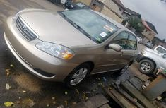Direct Tokunbo Toyota Corolla 2006 model