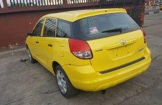 Selling my yellow colour Toyota Matrix 2006 model