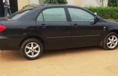 Clean foriegn used Toyota Corolla 2006 Black