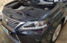 Neat Nigerian used Lexus RX 2015 350 AWD Black