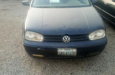 Fairly Nigerian used Volkswagen Golf 1999 Blue