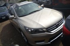 Neat Foreign used Honda Accord 2014 Gold