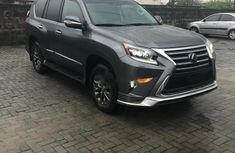 Sell well kept grey/silver 2018 Lexus GX automatic at price ₦30,000,000